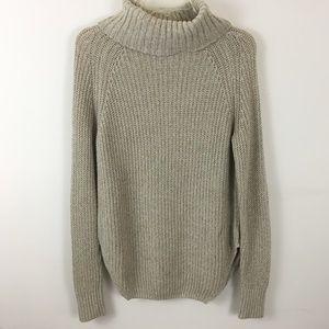 Silence + Noise Turtleneck Knit Sweater Sz Small